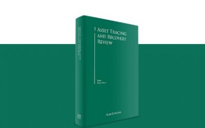"5th Edition of the book ""The Asset Tracing and Recovery Review"""