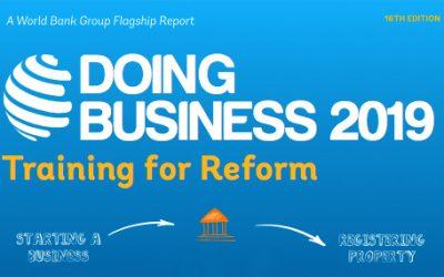 """Cuestionario anual sobre Registro de Propiedad en República Dominicana """"Doing Business"""" del Banco Mundial"""